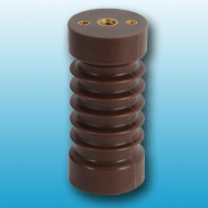 Medium voltage epoxy insulator for indoor use